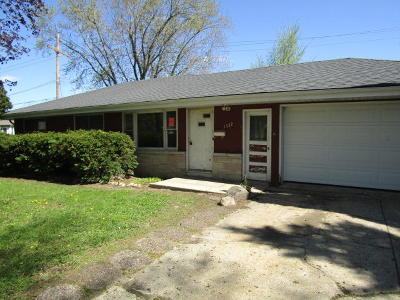 Waukesha Single Family Home For Sale: 1332 Josephine St