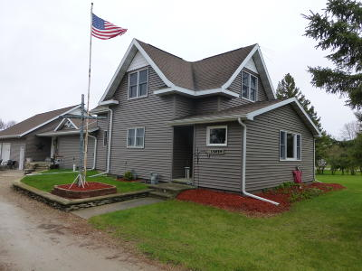 Pound Single Family Home For Sale: N3464 County Road Cp