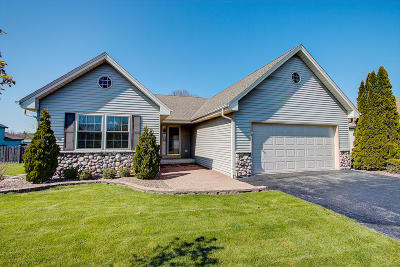 Racine Single Family Home Active Contingent With Offer: 3216 Heartland Ln