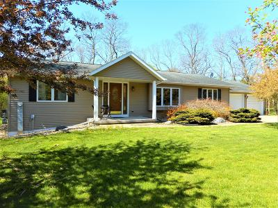 Whitewater Single Family Home For Sale: N7331 County Road P