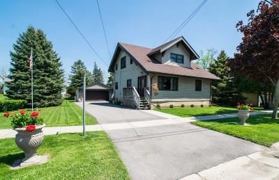 Elkhorn Single Family Home For Sale: 413 S Wisconsin St
