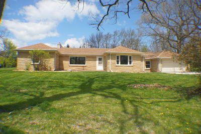 Single Family Home Active Contingent With Offer: 21730 W North Ave