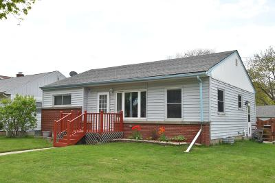 Milwaukee Single Family Home Active Contingent With Offer: 3301 S 68th St
