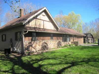 Sheboygan Single Family Home Active Contingent With Offer: 4425 Lakeshore Rd