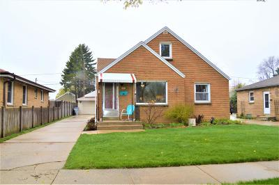 Milwaukee Single Family Home Active Contingent With Offer: 4351 S Taylor Ave