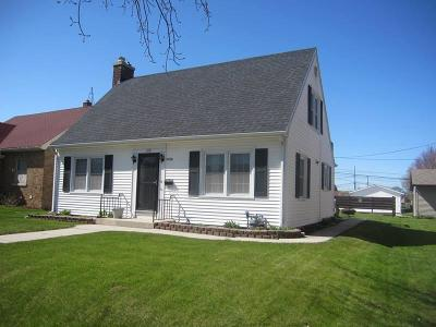 Sheboygan Single Family Home Active Contingent With Offer: 1118 North Ave