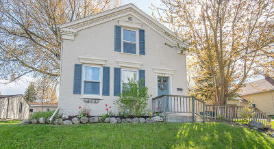 West Bend Single Family Home Active Contingent With Offer: 415 River Dr