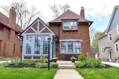 Single Family Home Active Contingent With Offer: 2229 N 70th St