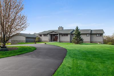 Elkhorn Single Family Home Active Contingent With Offer: W2495 County Rd D