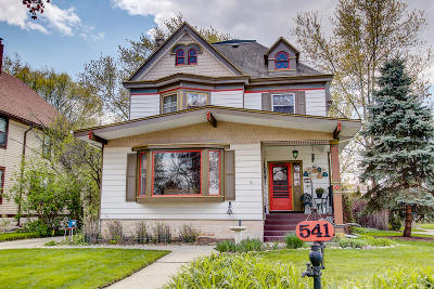 Waukesha Single Family Home Active Contingent With Offer: 541 N Dunbar Ave