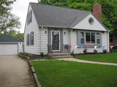 Wauwatosa Single Family Home For Sale: 2153 N 72nd St