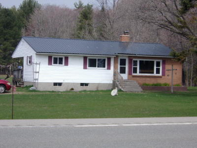 Menominee Single Family Home For Sale: 3985 N Hwy M-35