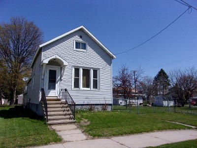 Menominee Single Family Home For Sale: 604 13th Ave.