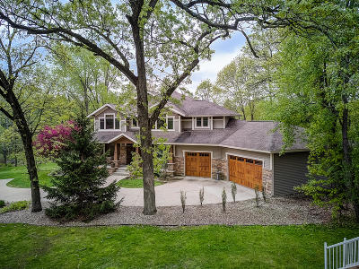 Lake Mills Single Family Home For Sale: W8235 Elm Point Rd