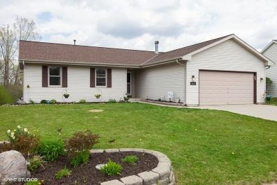 West Bend Single Family Home Active Contingent With Offer: 2010 Cardinal Dr