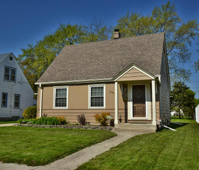 West Allis Single Family Home Active Contingent With Offer: 2813 S 84th St