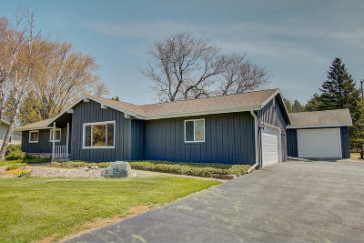 Richfield, Hubertus Single Family Home Active Contingent With Offer: 1420 Mount Ln