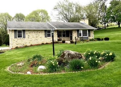 Lisbon Single Family Home Active Contingent With Offer: W266n6534 Top O Hill Dr