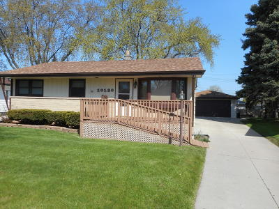 West Allis Single Family Home Active Contingent With Offer: 10120 W Harrison Ave