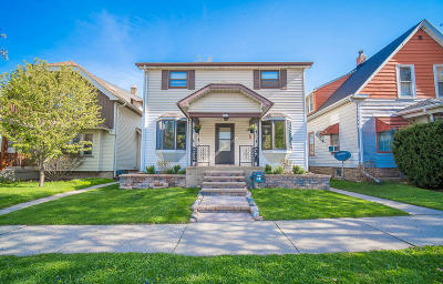 Milwaukee Single Family Home Active Contingent With Offer: 2302 E Morgan Ave.