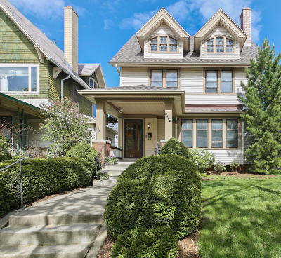 Single Family Home Active Contingent With Offer: 2962 N Farwell Ave