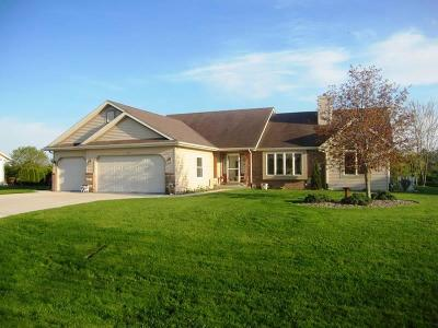 Sheboygan Single Family Home Active Contingent With Offer: W1939 Fairfield Ln