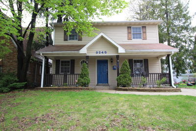 Milwaukee Single Family Home For Sale: 3245 N 47th St