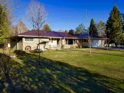 Marinette Single Family Home Active Contingent With Offer: N6219 State Highway 180