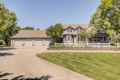Menomonee Falls Single Family Home Active Contingent With Offer: W220n4879 Town Line Rd