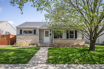 Single Family Home Active Contingent With Offer: 3386 S 69th St