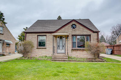 Single Family Home Active Contingent With Offer: 344 W Allerton Ave