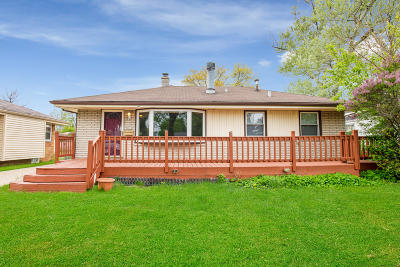 Single Family Home Active Contingent With Offer: 5753 N 80th St