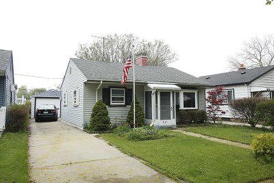 Single Family Home Active Contingent With Offer: 3445 S Kansas Ave