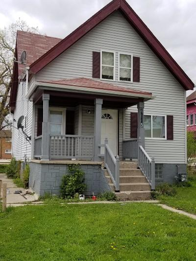 Milwaukee County Single Family Home For Sale: 4645 N Teutonia Ave