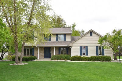 Menomonee Falls Single Family Home Active Contingent With Offer: W146n6437 Poplar Ct