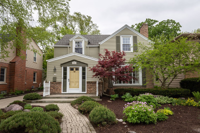Whitefish Bay Single Family Home Active Contingent With Offer: 125 W Belle Ave