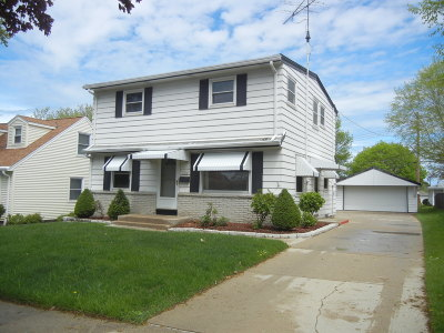 Single Family Home Active Contingent With Offer: 3416 S 88th St