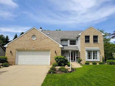 Pleasant Prairie WI Single Family Home For Sale: $369,900