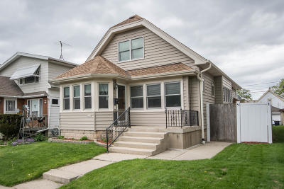 West Allis Single Family Home Active Contingent With Offer: 2228 S 62nd St