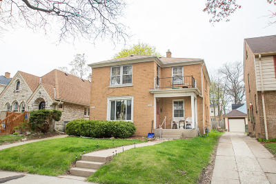 Milwaukee County Two Family Home For Sale: 3373 N 47th St