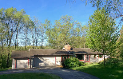 Waukesha Single Family Home Active Contingent With Offer: S45w32267 Highview Rd