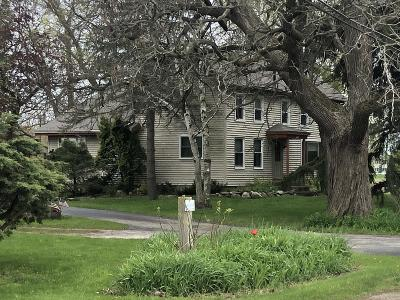 Racine Single Family Home Active Contingent With Offer: 7551 Foley Rd