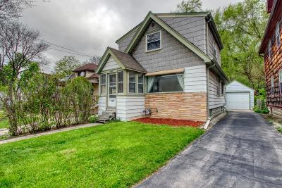 Single Family Home Active Contingent With Offer: 6842 St James St