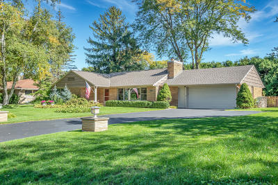 Milwaukee County Single Family Home Active Contingent With Offer: 7524 N Navajo Rd