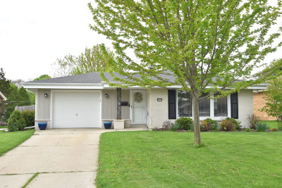 Milwaukee County Single Family Home Active Contingent With Offer: 8327 W Dreyer Pl