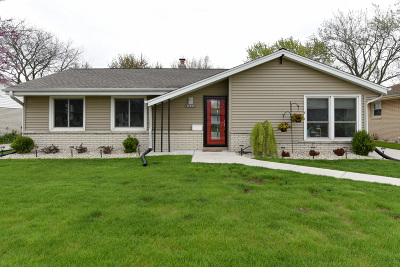 Single Family Home For Sale: 6000 S Indiana Ave