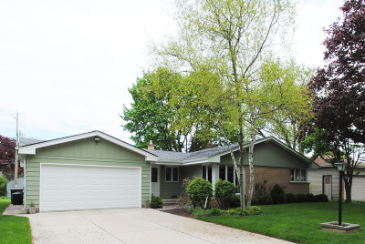 Wauwatosa Single Family Home Active Contingent With Offer: 1034 N 122nd St