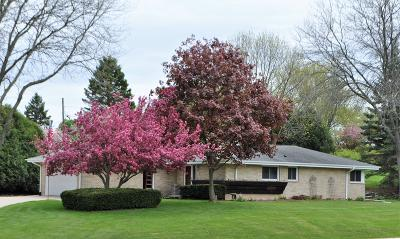 Menomonee Falls Single Family Home Active Contingent With Offer: N51w16539 Fair Oak Ct