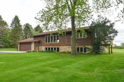 Oconomowoc Single Family Home Active Contingent With Offer: 2008 N Glendale Rd