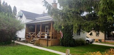 Sheboygan Falls Single Family Home Active Contingent With Offer: 160 Guilford St